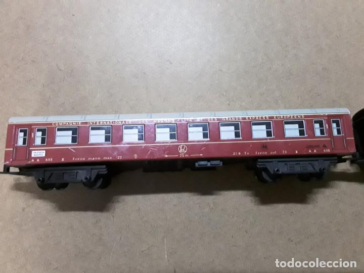 Trenes Escala: Vagones de tren chapa Valencia madrid - Foto 6 - 184574667