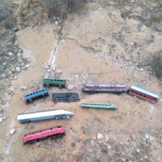 Trenes Escala: MAQUINAS DE TREN VAGONES MAQUETAS. Lote 184645697