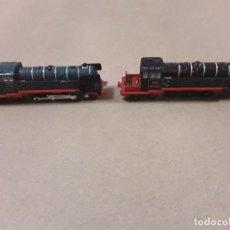 Trenes Escala: LOTE 2 LOCOMOTORAS DE TREN. Lote 184728960