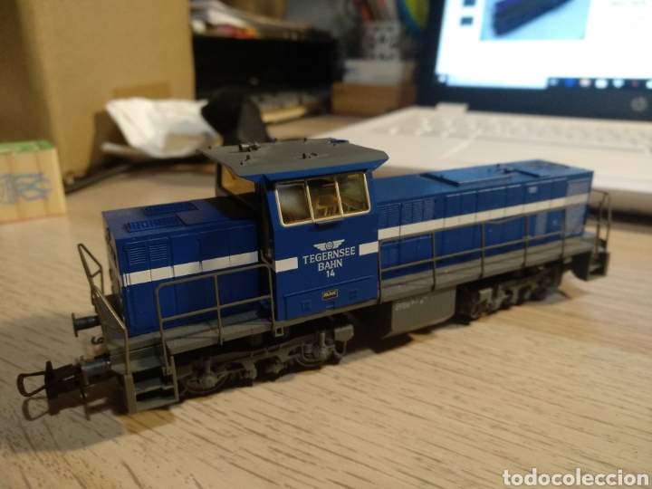 Trenes Escala: LOCOMOTORA DIESEL TRIX 22724 DIGITAL - Foto 3 - 184885415