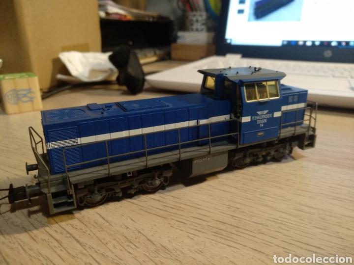 LOCOMOTORA DIESEL TRIX 22724 DIGITAL (Juguetes - Trenes Escala H0 - Otros Trenes Escala H0)