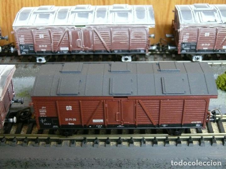 Trenes Escala: PIKO H0 Vagón bordes altos con cierre superior, de la DR, referencia 54100. - Foto 2 - 185738778
