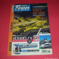 Trenes Escala: REVISTA MÁS TREN MÁSTREN Nº 72 2011 82 PÁGINAS . REVISTA NUEVA Y NUNCA LEÍDA. Lote 185876172