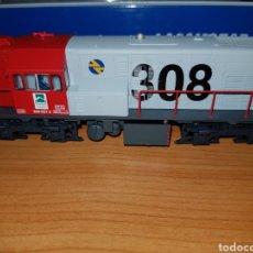 Trenes Escala: MABAR HO LOCOMOTORA DIESEL 308 REF.81503 DIGITAL. Lote 185894660