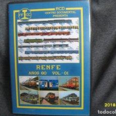 Trenes Escala: DVD RENFE AÑOS 80 Nº 1. Lote 186226048