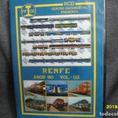 Trenes Escala: DVD RENFE AÑOS 80 Nº 2. Lote 186226231