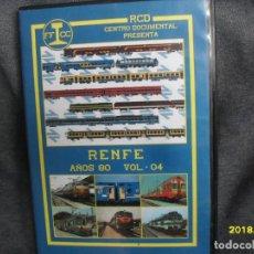 Trenes Escala: DVD RENFE AÑOS 80 Nº 4. Lote 186226265