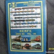 Trenes Escala: DVD RENFE AÑOS 80 Nº 5. Lote 186226317