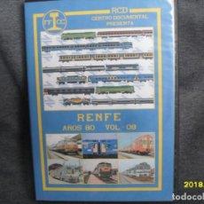 Trenes Escala: DVD RENFE AÑOS 80 Nº 6. Lote 186226397