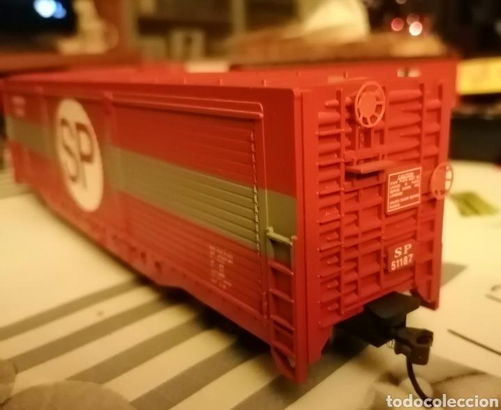 Trenes Escala: Vagón mercancías Southern Pacific. Bachmann HO / H0. Estados Unidos. USA. - Foto 3 - 187467945