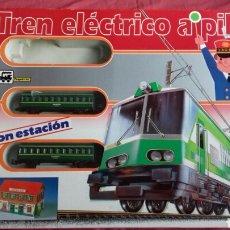 Trenes Escala: CIRCUITO DE TREN SIN LOCOMOTORA. PEQUETREN AÑOS 90.. Lote 187495010