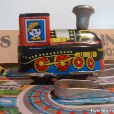 Trenes Escala: CIRCUITO TREN HOJALATA - CROSS ROAD TRAIN. Lote 187524426
