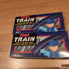 Trenes Escala: TOMY TREN 12 TRAMOS CURVA TRAIN REF. 1301. Lote 189300208