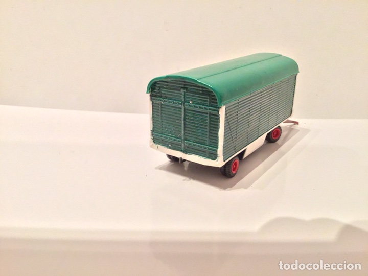Trenes Escala: JIFFY VENDE PREISER MODELL H0 20005 20006. CARROMATOS O CARAVANAS DE FERIA O CIRCO. PINTADOS A MANO. - Foto 5 - 189548402