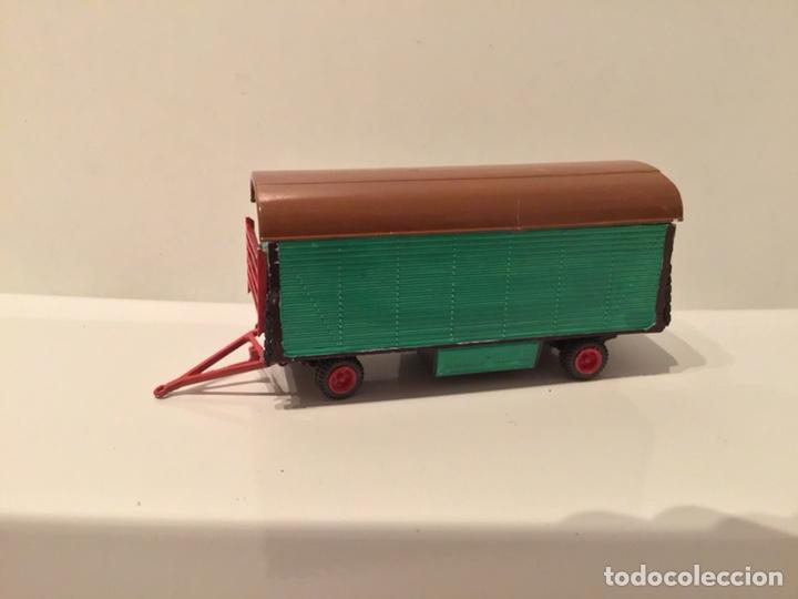 Trenes Escala: JIFFY VENDE PREISER MODELL H0 20005 20006. CARROMATOS O CARAVANAS DE FERIA O CIRCO. PINTADOS A MANO. - Foto 7 - 189548402