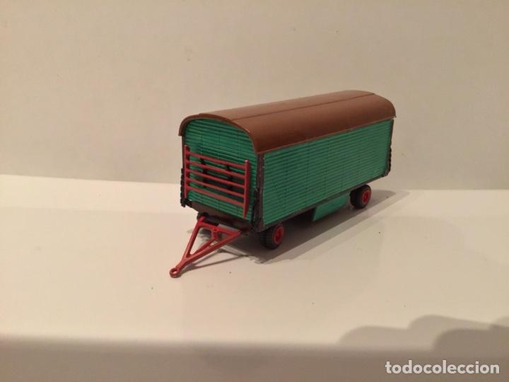Trenes Escala: JIFFY VENDE PREISER MODELL H0 20005 20006. CARROMATOS O CARAVANAS DE FERIA O CIRCO. PINTADOS A MANO. - Foto 8 - 189548402