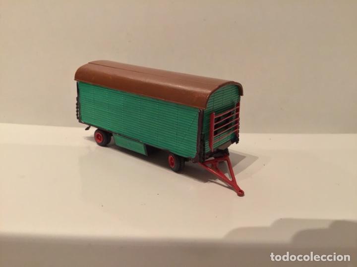 Trenes Escala: JIFFY VENDE PREISER MODELL H0 20005 20006. CARROMATOS O CARAVANAS DE FERIA O CIRCO. PINTADOS A MANO. - Foto 9 - 189548402