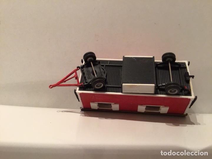 Trenes Escala: JIFFY VENDE PREISER MODELL H0 20005 20006. CARROMATOS O CARAVANAS DE FERIA O CIRCO. PINTADOS A MANO. - Foto 16 - 189548402