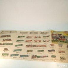 Trenes Escala: CATÁLOGO DE FERROCARRILES MINIATURA PAYA. ESCALA HO. TRENES, VAGONES, CIRCUITOS, ACCESORIOS.. Lote 189595295
