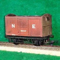 Trenes Escala: LOTE OFERTA VAGON DE TREN DE MERCANCIAS - GRAFAR - MADE IN BRITAIN - COMPATIBLE CON VIAS H0 / 00. Lote 189640935
