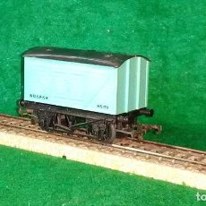 Trenes Escala: LOTE OFERTA VAGON DE TREN DE TRANSPORTE MERCANCIAS - MADE IN ENGLAND - COMPATIBLE CON VIAS H0 / 00. Lote 189645172