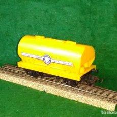 Trenes Escala: LOTE OFERTA VAGON DE TREN CEMENTERO - TRI-ANG - MADE IN ENGLAND - COMPATIBLE CON VIAS H0 / 00. Lote 189645332