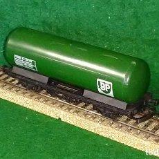 Trenes Escala: LOTE OFERTA VAGON DE TREN CISTERNA BP - LIMA - MADE IN ITALY - COMPATIBLE CON VIAS H0 / 00. Lote 189654597