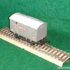 Trenes Escala: LOTE OFERTA VAGON DE TREN DE MERCANCIAS - G&R WRENN ENGLAND - COMPATIBLE CON VIAS H0 / 00. Lote 189654796