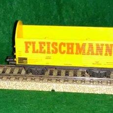 Trenes Escala: LOTE OFERTA VAGON DE TREN DE MERCANCIAS - FLEISCHMANN GERMANY - COMPATIBLE CON VIAS H0 / 00. Lote 189679582