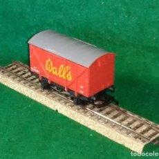 Trenes Escala: LOTE OFERTA VAGON DE TREN DE MERCANCIAS - G&R WRENN ENGLAND - COMPATIBLE CON VIAS H0 / 00. Lote 189679832