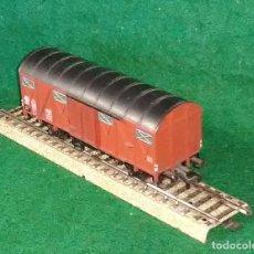 Trenes Escala: LOTE OFERTA VAGON DE TREN DE MERCANCIAS - FLEISCHMANN GERMANY - COMPATIBLE CON VIAS H0 / 00. Lote 189679991