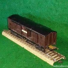 Trenes Escala: LOTE OFERTA VAGON DE TREN DE MERCANCIAS - GEGE FRANCIA - COMPATIBLE CON VIAS H0 / 00. Lote 189680195