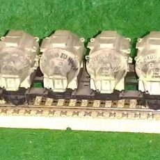 Trenes Escala: LOTE OFERTA VAGON DE TREN DE CEREALES - DB - MADE IN GERMANY - COMPATIBLE CON VIAS H0 / 00. Lote 189680576