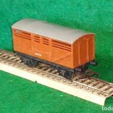 Trenes Escala: LOTE OFERTA VAGON DE TREN DE MERCANCIAS - TRI-ANG ENGLAND - COMPATIBLE CON VIAS H0 / 00. Lote 189680906
