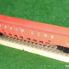 Trenes Escala: LOTE OFERTA VAGON DE TREN DE MERCANCIAS - MADE IN SLOVENIA - COMPATIBLE CON VIAS H0 / 00. Lote 189782558