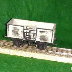 Trenes Escala: LOTE OFERTA VAGON DE TREN DE MERCANCIAS - ENGLAND - COMPATIBLE CON VIAS H0 / 00. Lote 189782748