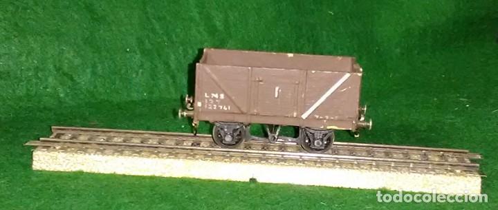 Trenes Escala: LOTE OFERTA VAGON DE TREN DE MERCANCIAS - ENGLAND - COMPATIBLE CON VIAS H0 / 00 - Foto 2 - 189782881