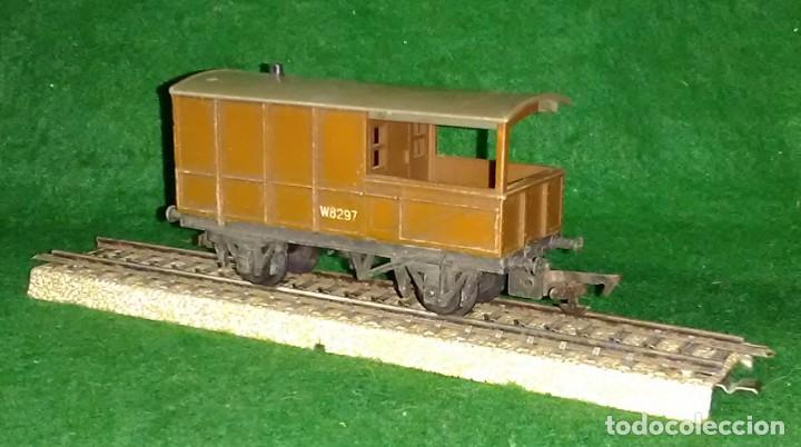 Trenes Escala: LOTE OFERTA VAGON DE TREN DE MERCANCIAS - TRI-ANG ENGLAND - COMPATIBLE CON VIAS H0 / 00 - Foto 2 - 189786798