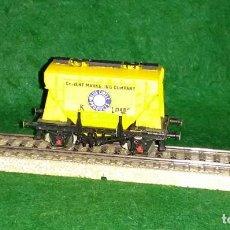 Trenes Escala: LOTE OFERTA VAGON DE TREN CEMENTERO - COMPATIBLE CON VIAS H0 / 00. Lote 189787923