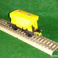 Trenes Escala: LOTE OFERTA VAGON DE TREN CEMENTERO - COMPATIBLE CON VIAS H0 / 00. Lote 189788003