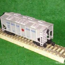 Trenes Escala: LOTE OFERTA VAGON DE TREN TRANSPORTE DE CEREALES - COMPATIBLE CON VIAS H0 / 00. Lote 189788776