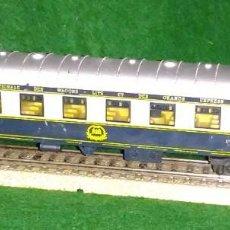 Trenes Escala: LOTE TREN VAGON LARGO DE PASAJEROS - LIMA ITALIA - COMPATIBLE CON VIAS H0 / 00. Lote 189789406