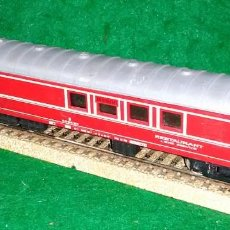 Trenes Escala: LOTE TREN VAGON LARGO RESTAURANTE- JOUEF FRANCIA - COMPATIBLE CON VIAS H0 / 00. Lote 189789673