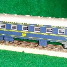 Trenes Escala: LOTE TREN VAGON LARGO COCHE CAMA / WAGONS LITS - JOUEF FRANCIA - COMPATIBLE CON VIAS H0 / 00. Lote 189789828