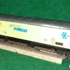 Trenes Escala: LOTE TREN VAGON LARGO TRANSPORTE FRIGORIFICO - LIMA ITALIA - COMPATIBLE CON VIAS H0 / 00. Lote 189790190