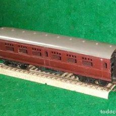 Trenes Escala: LOTE TREN VAGON LARGO DE PASAJEROS - TRI-ANG ENGLAND - COMPATIBLE CON VIAS H0 / 00. Lote 189790681