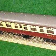 Trenes Escala: LOTE TREN VAGON LARGO DE PASAJEROS - TRI-ANG ENGLAND - COMPATIBLE CON VIAS H0 / 00. Lote 189790938