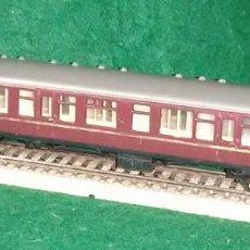 Trenes Escala: LOTE TREN ANTIGUO VAGON LARGO DE PASAJEROS - TTR ENGLAND- COMPATIBLE CON VIAS H0 / 00. Lote 189791808