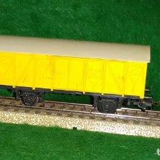 Trenes Escala: LOTE OFERTA TREN - VAGON DE MERCANCIAS - LIMA ITALIA - COMPATIBLE CON VIAS H0/00. Lote 189969715
