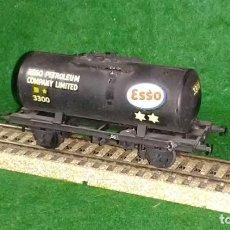 Trenes Escala: LOTE OFERTA TREN - VAGON CISTERNA DE PETROLEO ESSO - AIRFIX ENGLAND - COMPATIBLE CON VIAS H0/00. Lote 189970078